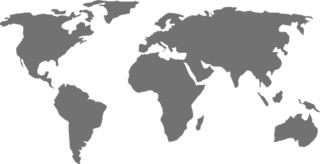 World Map Grayscale
